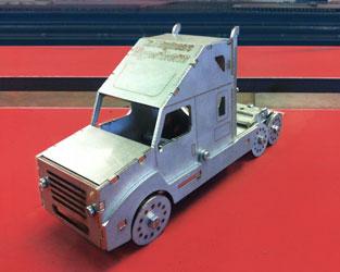 vrachtcabine model